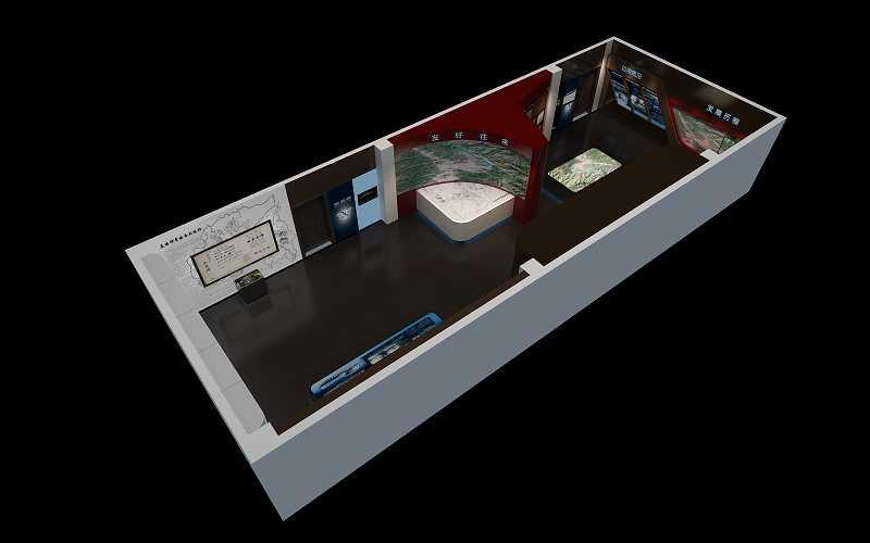 西双版纳边防支队历史馆展馆设计